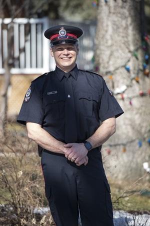 Edmonton Police Staff Sgt  Duane Hunter is Top Cop for 2018