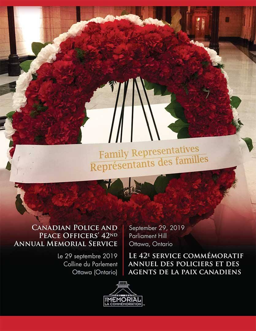 Honouring Police And Peace Officers National Memorial Day 2019