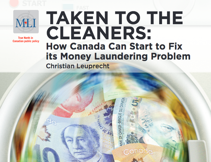 How Canada can start to fix its money laundering problem: New MLI study
