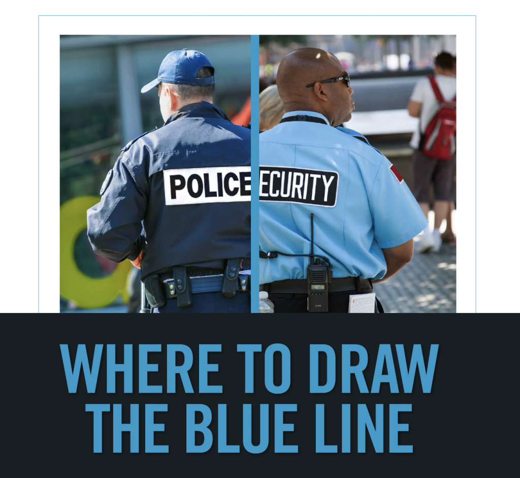 Drawing the Blue Line